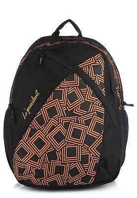 Shell Orange Backpack / School Bag by President Bags - GottaGo.in