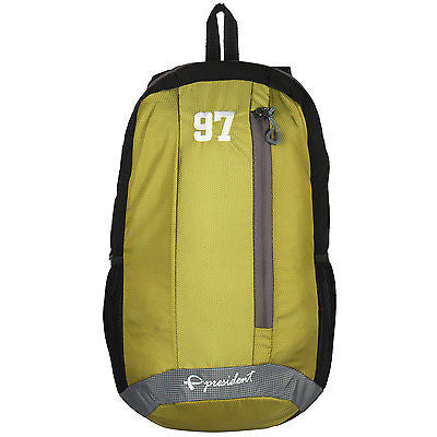Quest Green Backpack / School Bag by President Bags - GottaGo.in