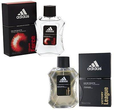 Adidas Combo - Victory League and Team Force EDT Perfume for Men (100 ml x 2) - GottaGo.in