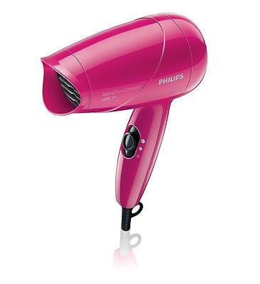 Philips HP8141/00 1000W Compact Pink Colour Hair Dryer for Women - GottaGo.in