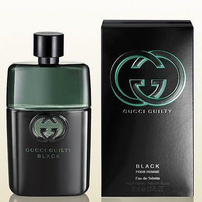 Gucci Guilty Black Pour Homme EDT Perfume for Men 90 ml - GottaGo.in
