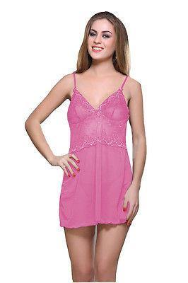 Bold Desire Babydoll Set Pink #515 - GottaGo.in