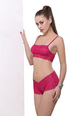 Bold Desire Babydoll Set Pink #901 - GottaGo.in