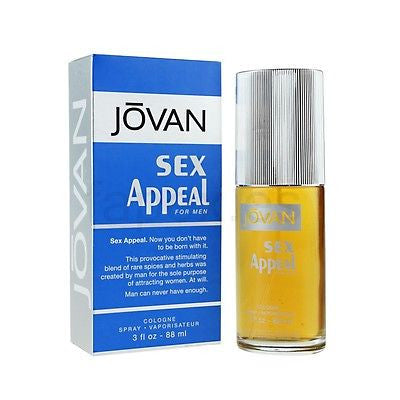 Jovan Sex Appeal EDC Perfume for Men 88 ml - GottaGo.in