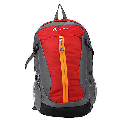 UNO Red Backpack / School Bag with Rain cover by President Bags - GottaGo.in