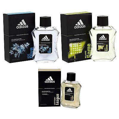 Adidas Combo - Ice Dive, Pure Game and Victory League EDT Perfume for Men (100 ml x 3) - GottaGo.in