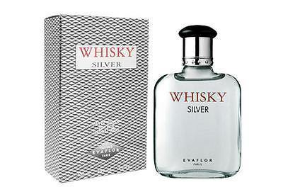 Evaflor Whiskey Silver EDT Perfume for Men 100 ml - GottaGo.in