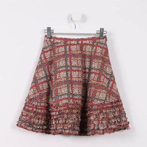 Frilly Layered Skirt - GottaGo.in