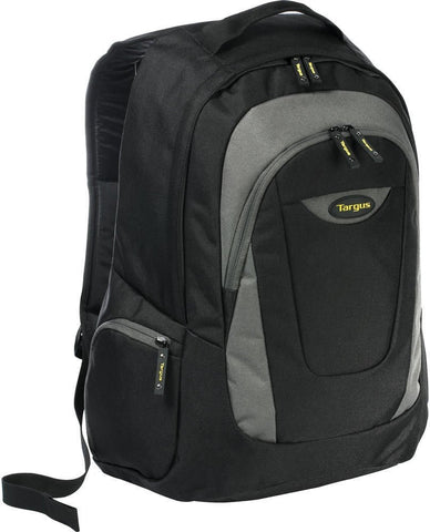 "Targus TSB193AP Trek 16"" Laptop Backpack in Black - Gray - GottaGo.in"