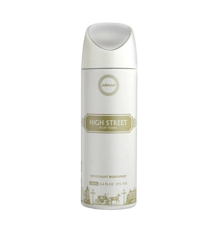 Armaf High Street Deodorant Body Spary for Women 200ml - GottaGo.in