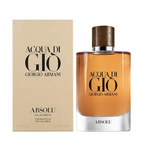 Armani Acqua Di Gio Absolu Eau De Parfum for Men by Giorgio Armani 125 ml - GottaGo.in