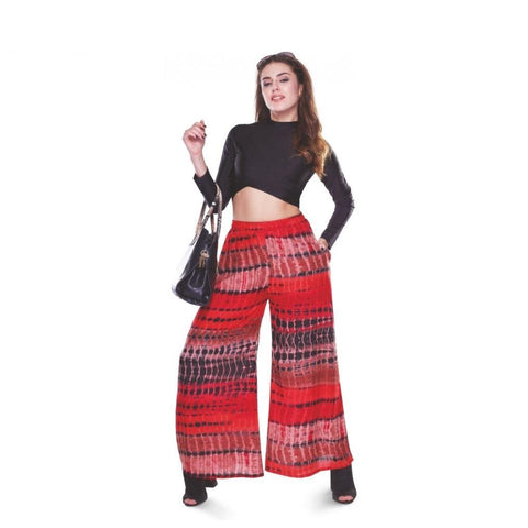 Lyra Printed Palazzo Pants - GottaGo.in