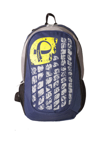 Bling Blue Backpack / School Bag by President Bags