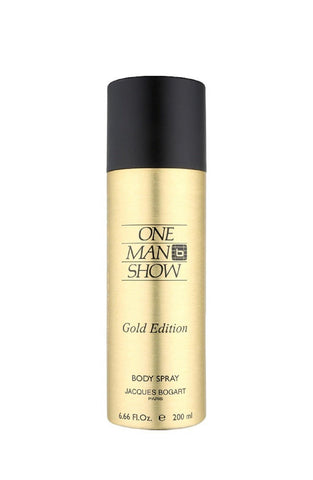 Bogart One Man Show Gold Edition Deodorant for Men 200 ml - GottaGo.in