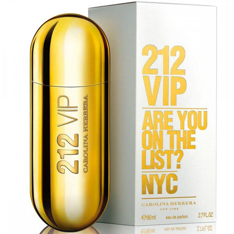 Carolina Herrera 212 VIP EDP Perfume for Women 80ml - GottaGo.in