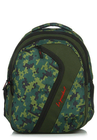 Courage Green Backpack / School Bag by President Bags