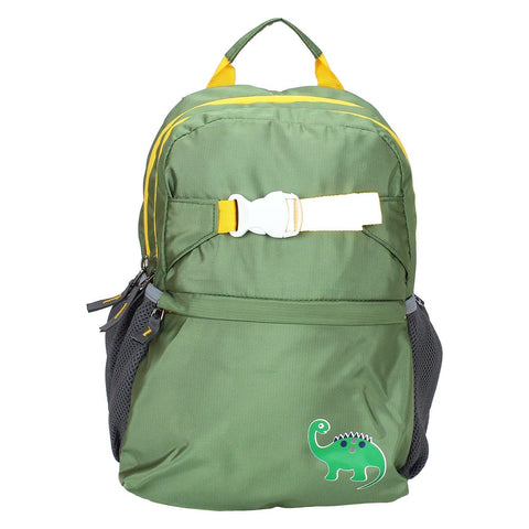 Dino Green Backpack / School Bag by President Bags - GottaGo.in