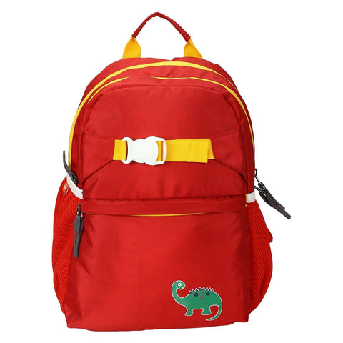Dino Red Backpack / School Bag by President Bags - GottaGo.in