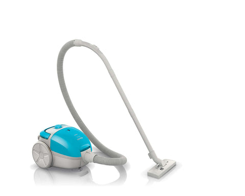 Philips FC8082 Easy Go Vacuum Cleaner with Bag 1.5-Litre in Blue-White Colour - GottaGo.in