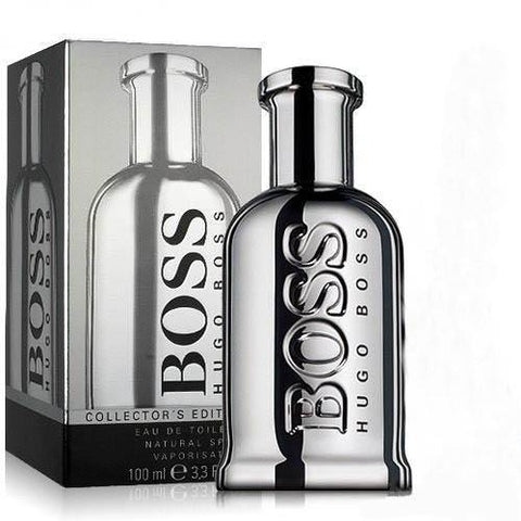 Hugo Boss Bottled Collector's Edition (Silver) for Men EDT Perfume 100ml - GottaGo.in