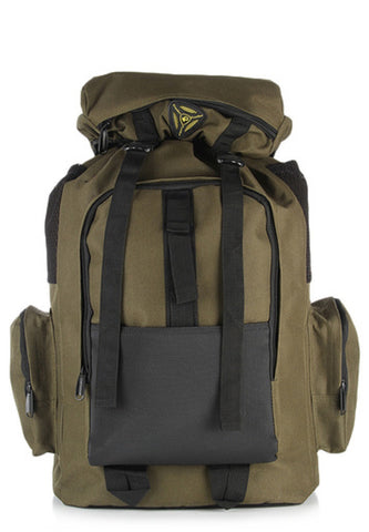 Jungle Olive Haversack / Rucksack / Hiking Backpack by President Bags - GottaGo.in