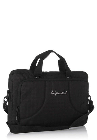 Embark Black Laptop Backpack by President Bags - GottaGo.in