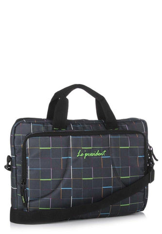 Embark Multicolour Laptop Backpack by President Bags