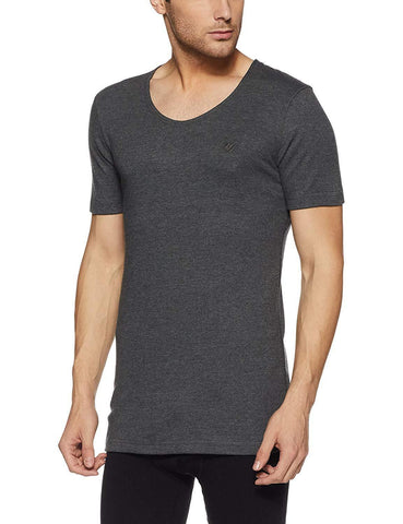 Onn Men's Round Neck Half Sleeve Thermal Vest #NT021 - GottaGo.in