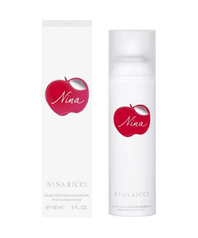 Nina Ricci Fresh (Apple) Deodorant for Women 150ml - GottaGo.in