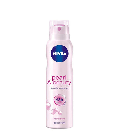 Nivea Pearl and Beauty Deodorant for Women 150ml - GottaGo.in