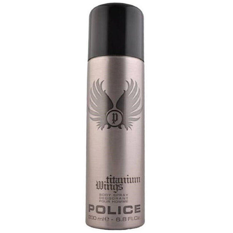 Police Titanium Wings Deodorant for Men 200 ml - GottaGo.in