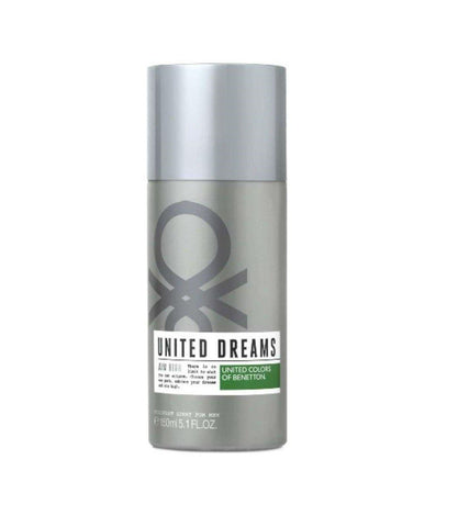 United Dreams Aim High Deodorant by United Colors of Benetton for Men 150 ml - GottaGo.in