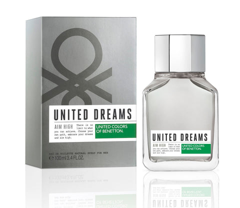 United Dreams Aim High EDT Perfume by United Colors of Benetton for Men 100 ml - GottaGo.in