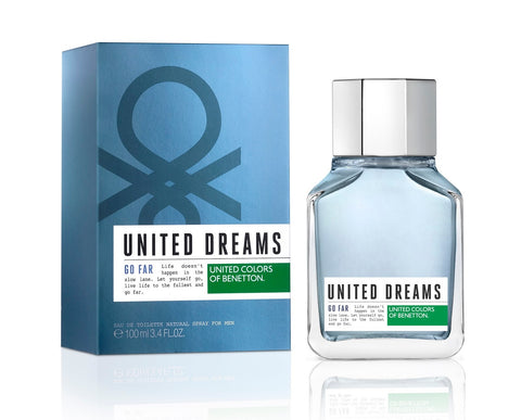 United Dreams Go Far EDT Perfume by United Colors of Benetton for Men 100 ml - GottaGo.in