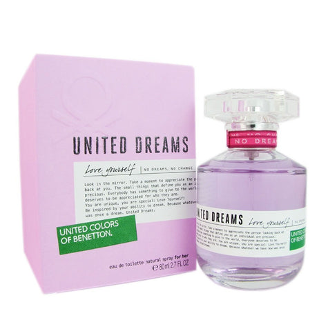 United Dreams Love Yourself EDT Perfume by United Colors of Benetton for Women 100 ml - GottaGo.in