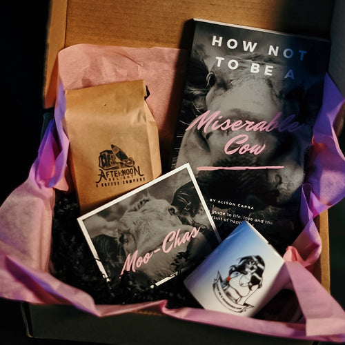 Afternoon Delight Don't Be A Miserable Cow Gift Set