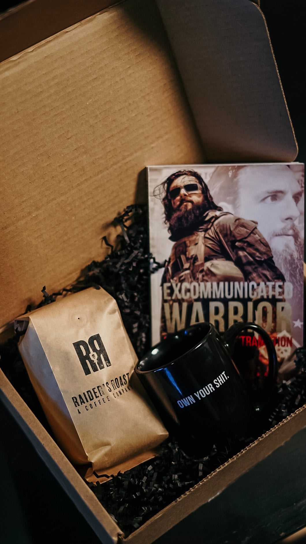 Raider's Roast Excommunicated Warrior Gift Set