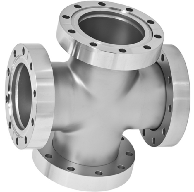 4-Way Cross 2 Flanges