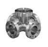 5-Way Cross 3 Flanges