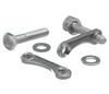 Clearance Bolt Hole Flange Fasteners With Plate Nuts