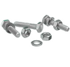 Wire Seal Flange Fasteners With Nuts