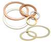 Gasket, Ring, White Felt, 65X38X2 mm