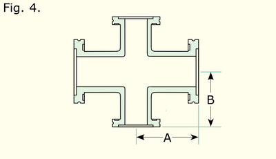 4-Way Reducing Cross