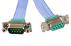 Subminiature D Type HV Ribbon Cables – Male to Female Extension Cable