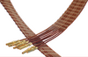 Subminiature D Type UHV Ribbon Cables – Contact to Cable