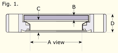 Fused Silica EUV Viewports