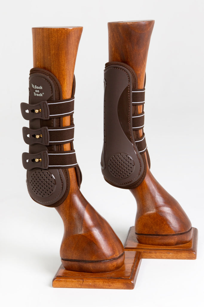 Royal Tendon Boots - Brown