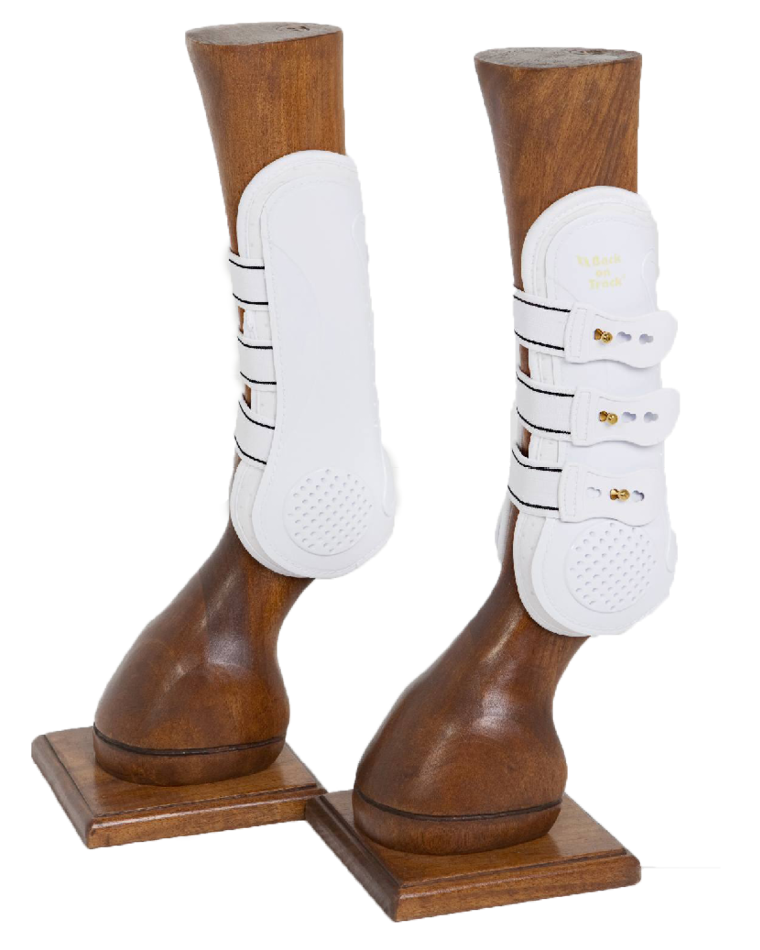 Royal Tendon Boots - White