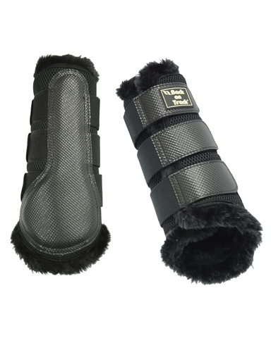 Brush Boots 3D Mesh with Fur lining