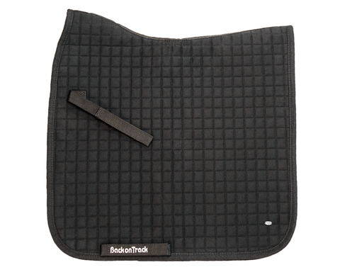 Black Saddle Pad (No. 1) - Dressage